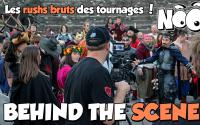 BEHIND THE SCENE #6 - Tournage Fluxball Noob saison 7 - Rushs Bruts